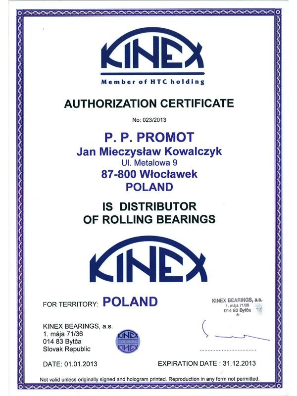 Certyfikat-Kinex-2013