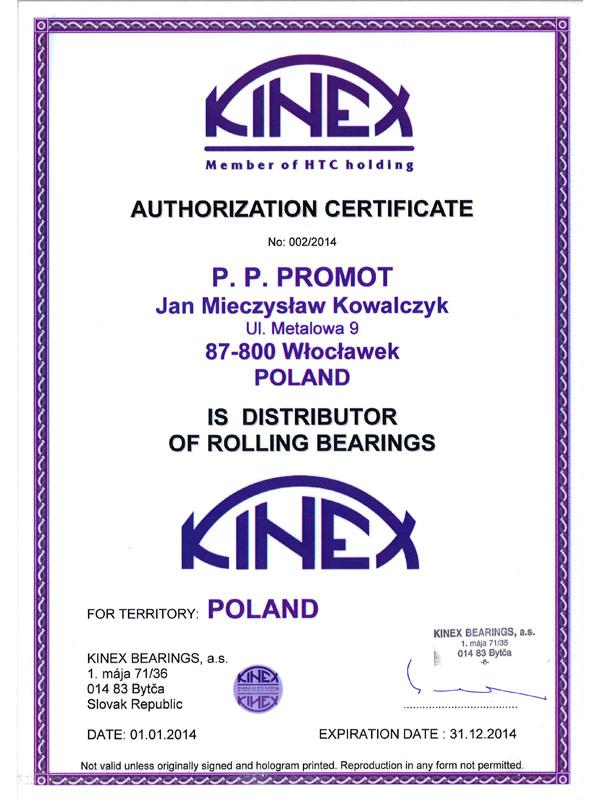 Certyfikat-Kinex-2014