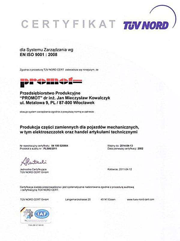 certyfikat2011